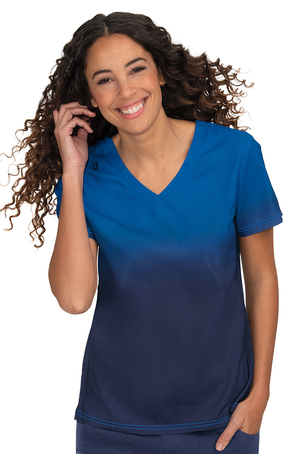 koi-lite-reform-scrub-top-royal-navy