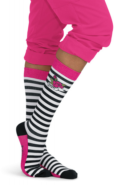 Koi Betsey Johnson Compression Socks - Betsey Stripe - LIMITED EDITION