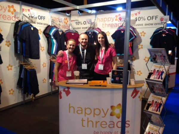 happythreads-at-dentistry-show-2014