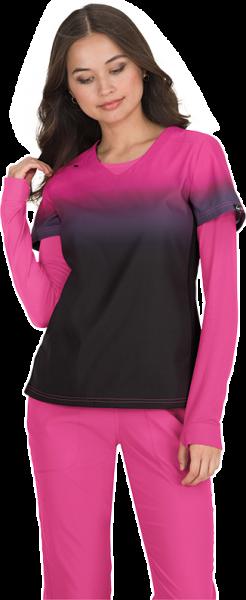 Koi Lite Reform Top Black/Flamingo