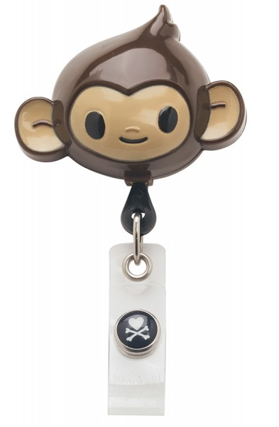 Koi Retractable Badge - tokidoki Monkey