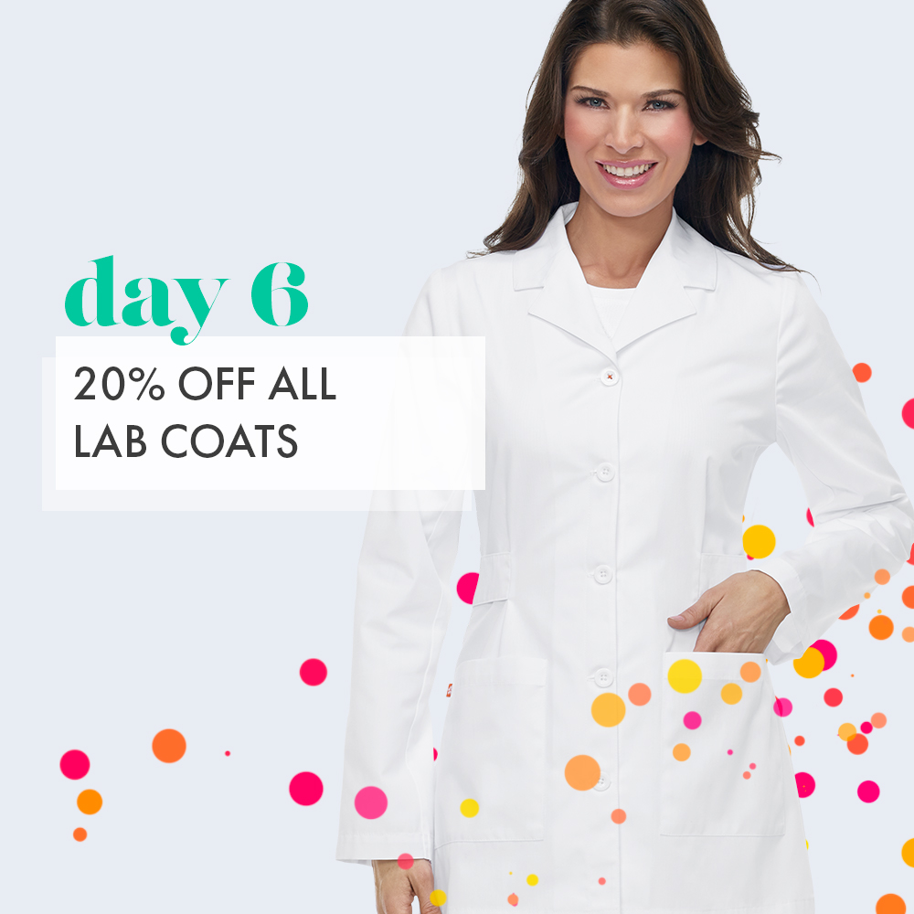Day 6: 20% off Lab Coats
