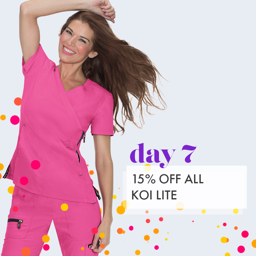 Day 7: 15% off Koi Lite