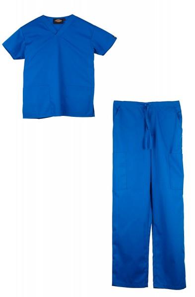 Dickies Unisex Set- Royal blue