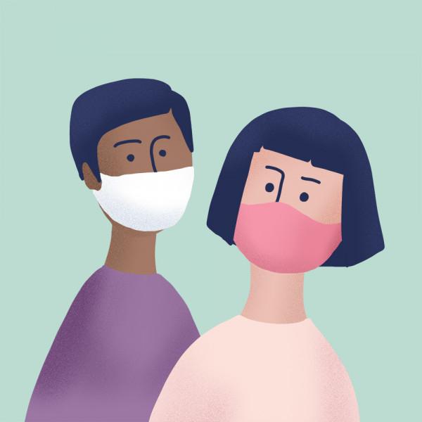 people-wearing-facemasks-illustration