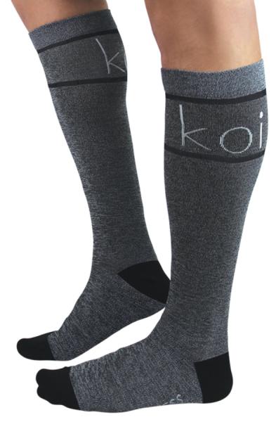 Koi Unisex Compression Socks Heather Koi