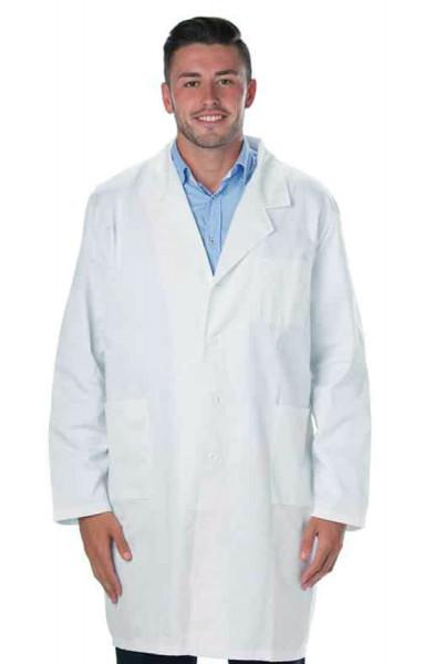 Prestige White Unisex Lab Coat