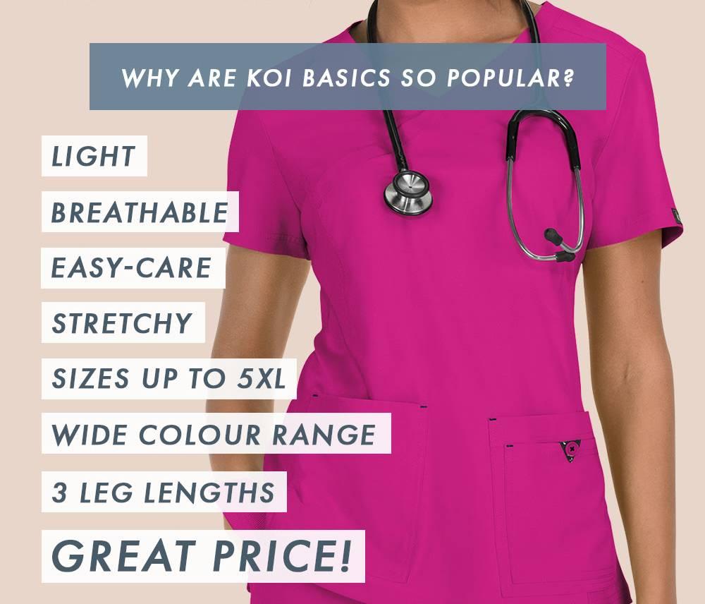 5e7f29b924b 10% Off Koi Basics Until Sunday June 16th | Dental Uniforms ...