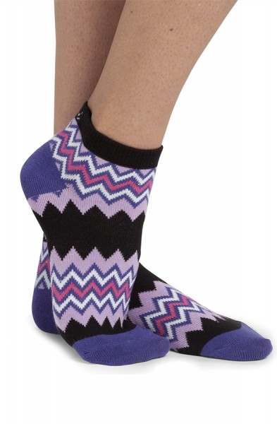 Koi Socks Two-Pack Grape