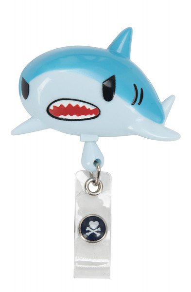 Koi Retractable Badge - tokidoki Shark