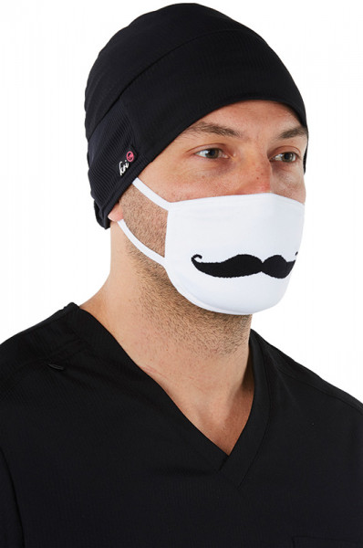 Koi Surgical Mask - Moustache