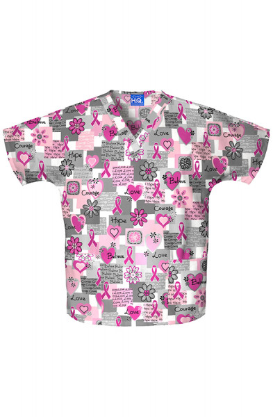 Cherokee Scrub Top - Words of Love