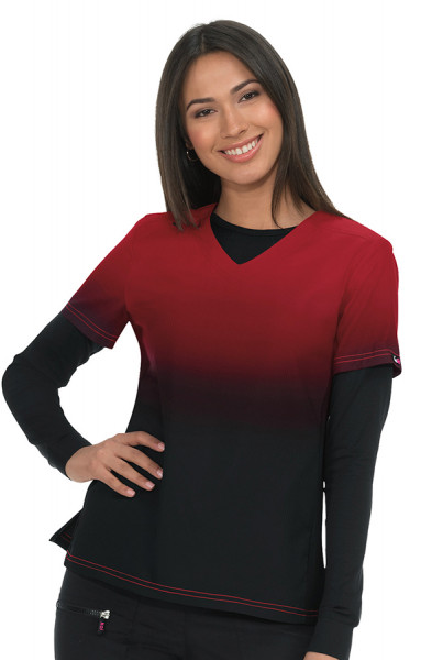 Koi Lite Reform Top in Roby / Black