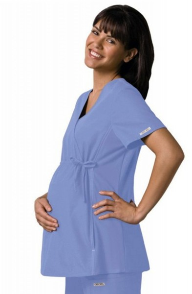 Cherokee Maternity Scrub Top