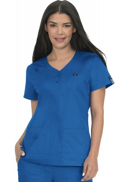 Koi Stretch Dalia Scrub Top